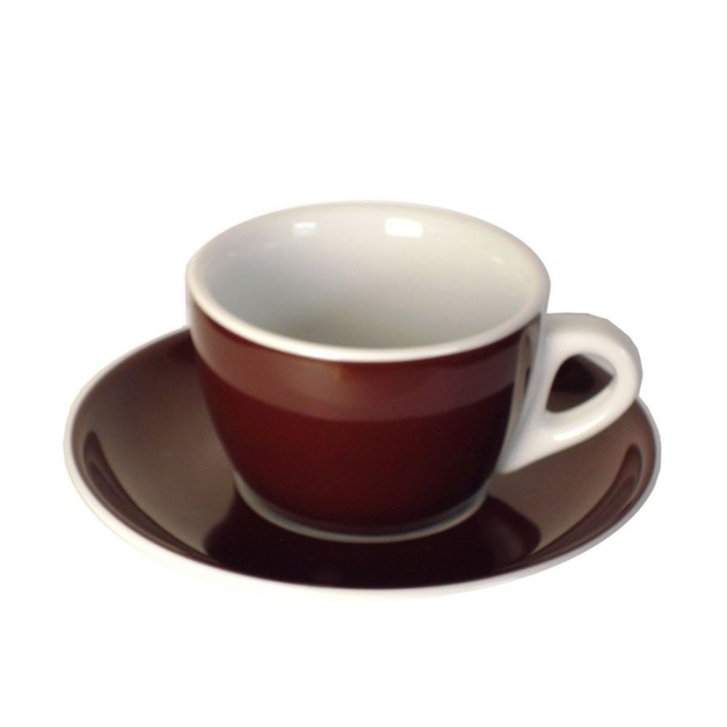 cappuccinotassen braun kaffee espresso baristazubeh r bei. Black Bedroom Furniture Sets. Home Design Ideas