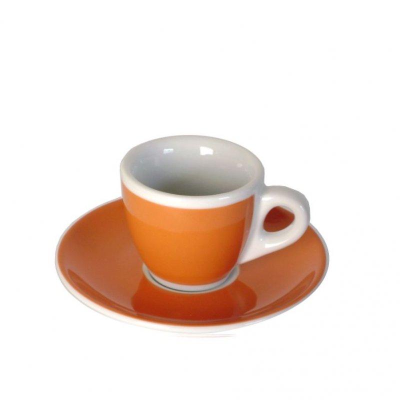dickwandige espressotassen orange kaffee espresso. Black Bedroom Furniture Sets. Home Design Ideas