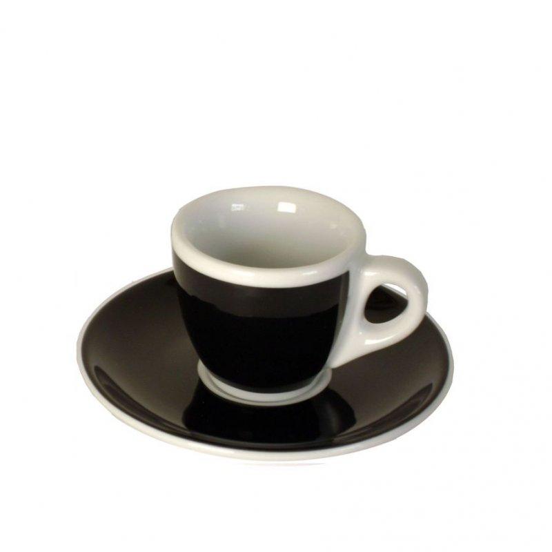 dickwandige espressotassen schwarz kaffee espresso baristazubeh r bei. Black Bedroom Furniture Sets. Home Design Ideas