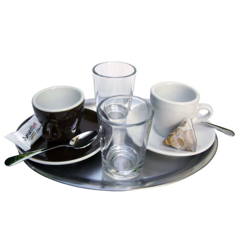 espresso wasserglas kaffee espresso baristazubeh r bei. Black Bedroom Furniture Sets. Home Design Ideas