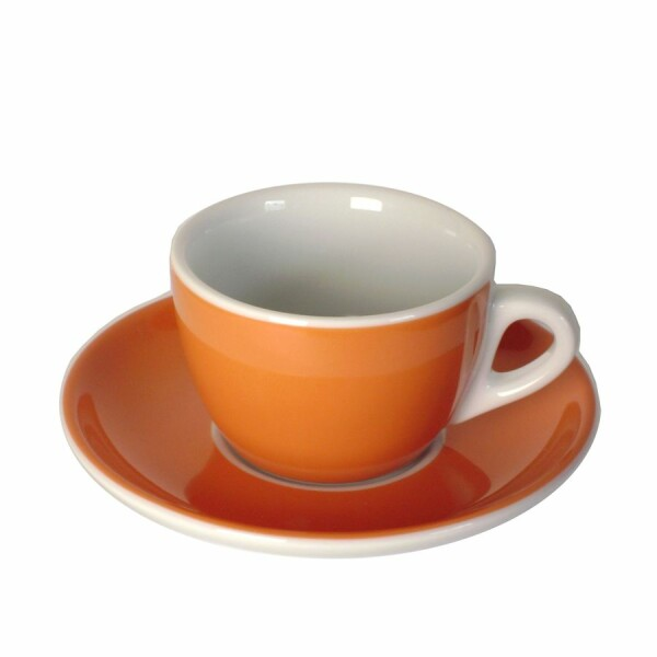 Cappuccinotassen Orange