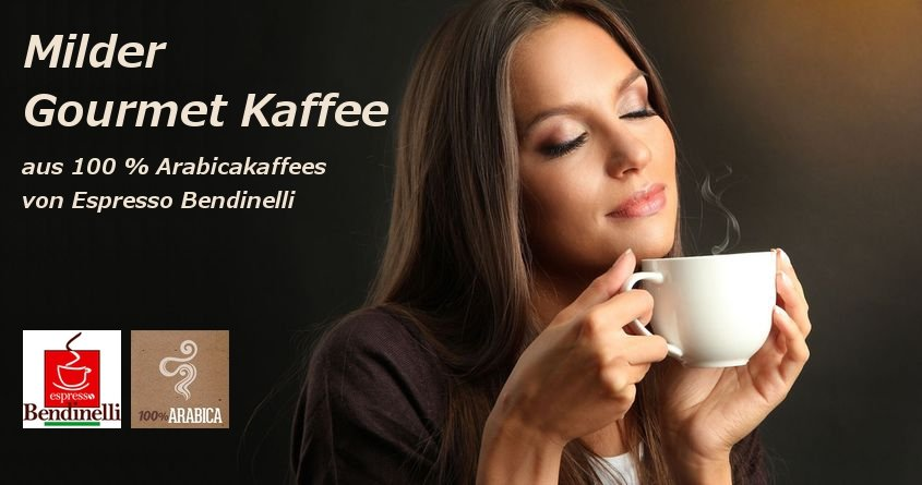 Espresso Bendinelli 100% Gourmet