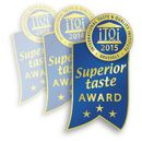 Prämierung mit dem Superior Taste Award 2013, 2014 und 2015 3 Sterne