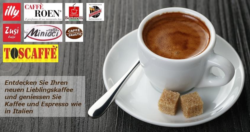 Kaffee und Espresso wie in Italien geniessen
