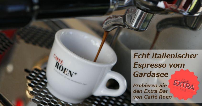 Italienischer Espresso: Roen Extra Bar